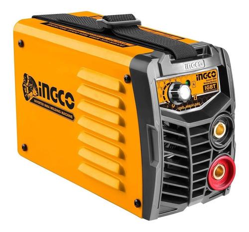 Soldadora Inverter Compacta Ingco Pro 180amp Igbt Mma1805 Ff