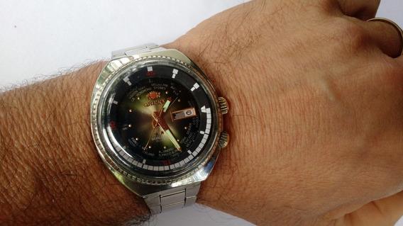 Relógio Orient Wd Automático Antigo King Diver Degrade Ótimo