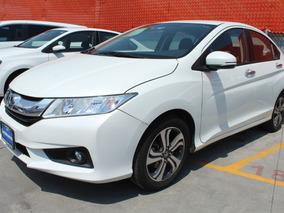 Honda City 2016 Ex Aut Blanco Impecable Con Garantia Agencia