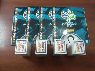 Album Copa Mundial Alemania 2006 Panini - Completo A Pegar