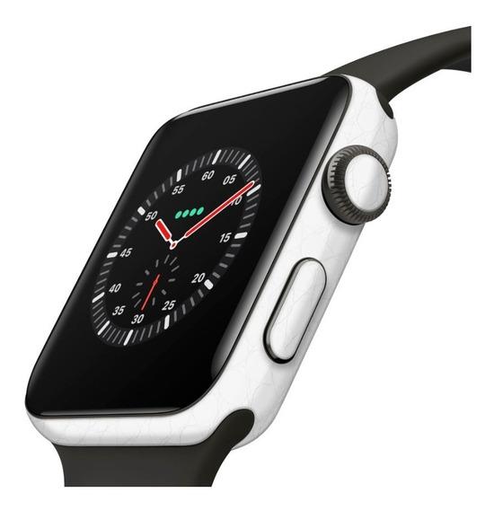 Adesivo Proteção Couro Branco Apple Watch 42m P/ Series 2