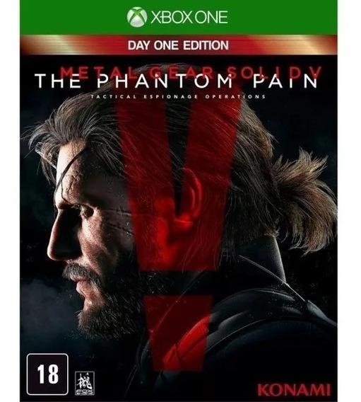 Jogo Metalgear Solid V The Phantom Pain Xboxone Mídia Física