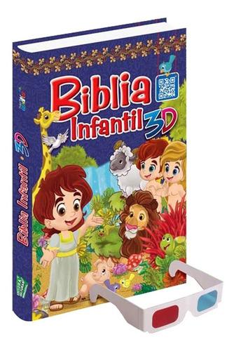 Biblia Infantil En 3d + Obsequio