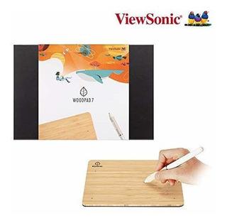 Viewsonic Nueva Tableta De Dibujo Woodpad De 7 Pulgadas Con