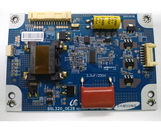 Placa Inverter Philco - St I. Semp Toshiba Ssl320_oe2b Rev.