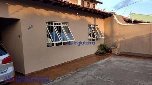 Casa À Venda, 123 M² Por R$ 325.000,00 - Sabará I - Londrina/pr - Ca0565