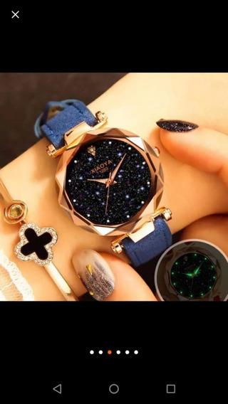 Reloj Geneva Mayoreo Cristal
