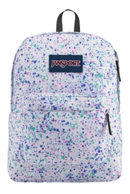Mochila Jansport Negra, Azul, Vino, Multicolor Superbreak