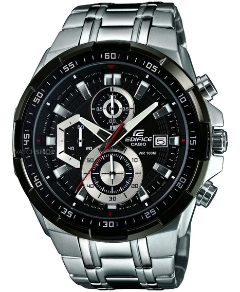 Reloj Casio Edifice Efr-539d-1av -100% Nuevo