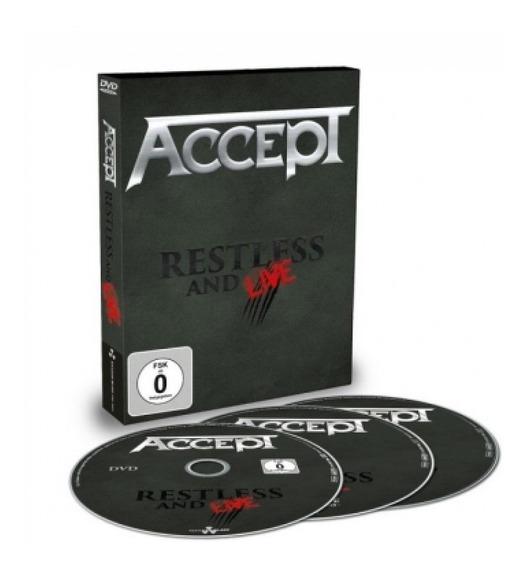 Box Accept- Restless & Live(02 Cd´s+01 Dvd)