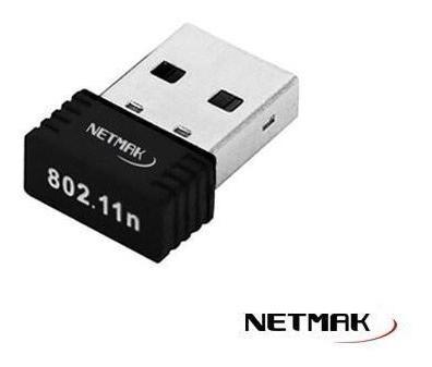 Adaptador Usb Wifi Netmak Nm-cs150 150mbs