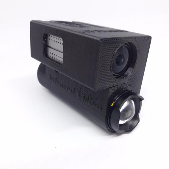 Câmera Visão Noturna Airsoft Para Capacete