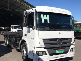Mb 2430 / Truck / Rollon Rollof / Automático / Ano:2014