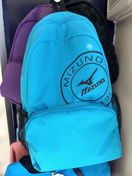 Mochila Mizuno (color Azul Y Violeta) Consultar
