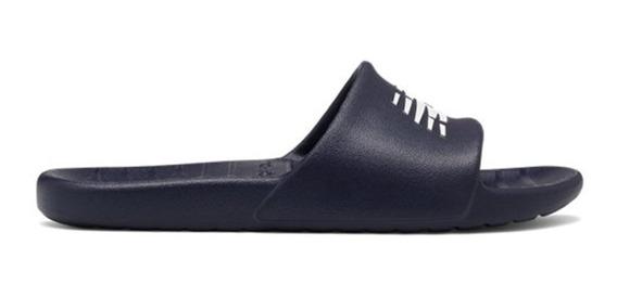Ojotas New Balance Suf100 Azul Oscuro Francia Negro Blanco