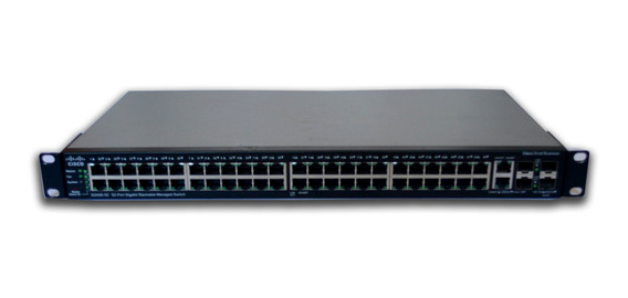 Switch Cisco Sg500-52-k9 V02 Gerenciavel Semi Novo