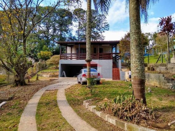 Chácara Com 2 Dormitórios À Venda, 1200 M² Por R$ 450.000 - Alto Da Serra (mailasqui) - São Roque/sp - Ch0324