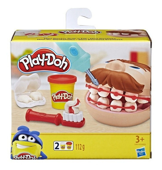 Mini Play Doh Massinha Brincando De Dentista - Hasbro E4902