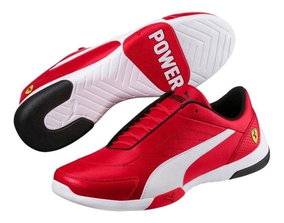 Tenis Puma Ferrari Rojos Sf Kart Cat Lii Envío Full