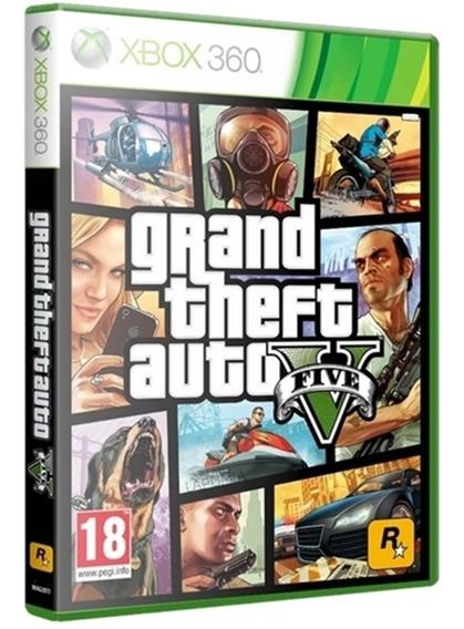 Gta 5 Xbox360 Mídia Física Original Lacrado Nacional Promoção Envio Imediato