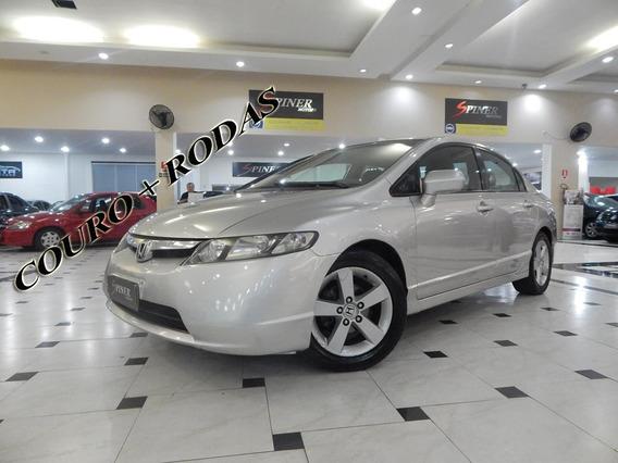 Honda New Civic 1.8 Lxs 16v 4p Automático Completo C/ Couro