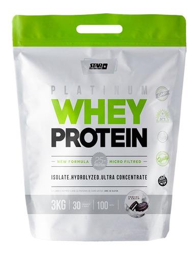 Whey Protein 3 Kg Star Nutrition Proteina De Suero