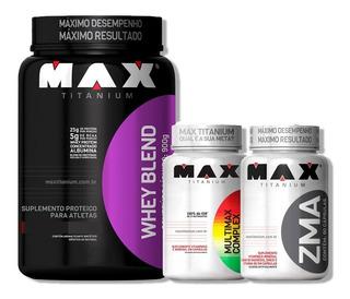 10x Whey Blend 900g + 10x Multimax 90 Caps + 10x Zma