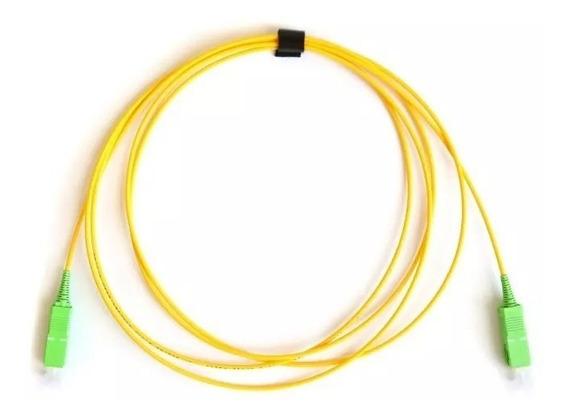 Fiber Optic Patch Cord Sc/apc-sc/apc Sx Sm3.0mm 5m 10unidad