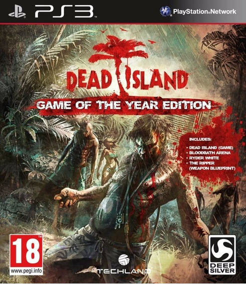 Game Play3 - Dead Island - Semi-novo Jogo Ps3