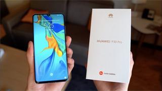 Huawei P30 Pro 256 Libre! 1 Año De Garantía! Detalle Minimo!