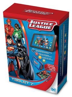 Tablet 7 Liga De La Justicia 1gb Ram 8gb Funda Lapiz Optico