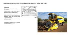 Manual Serviço Colheitadeira New Holland Tc 5090 2007
