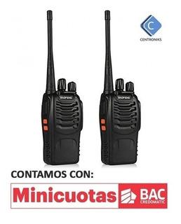 Radios De Comuniación Baofeng 888s [3km Alcance] [precio Neg