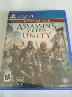 Assassins Creed Unity Ps4 Nuevo Sellado