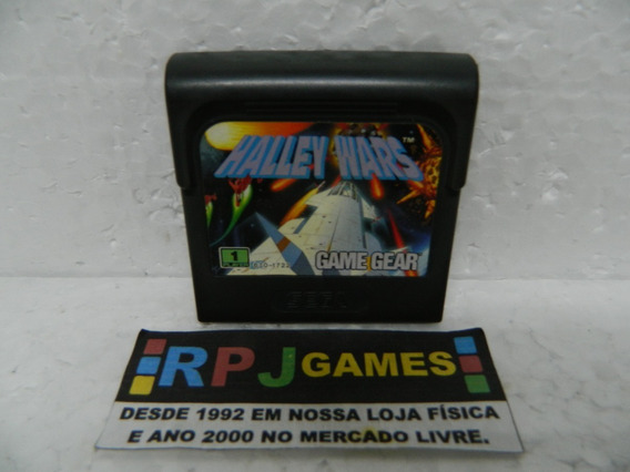Halley Wars Original P/ Game Gear - Loja Centro Rj - Somente O Cartucho