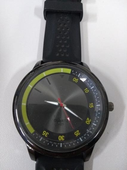 Relógio De Pulso Quartz Black