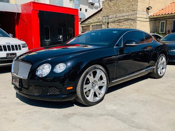 Bentley Continental Gt W12 Año:2014