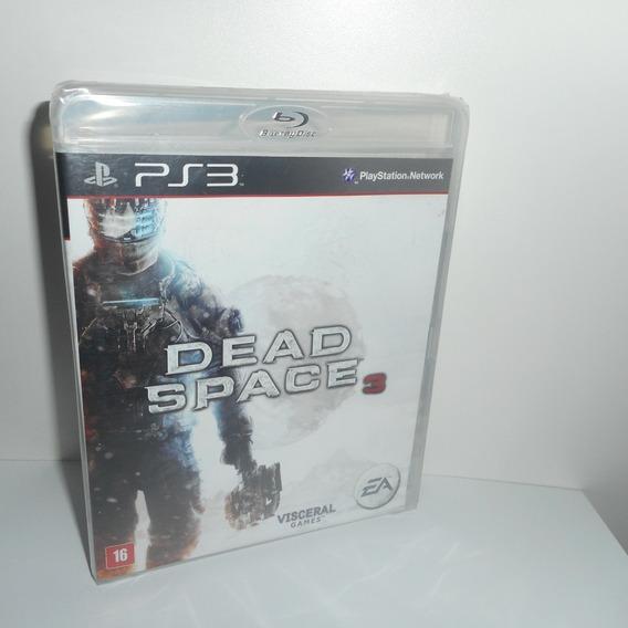Dead Space 3 Ps3 Mídia Física Novo Lacrado