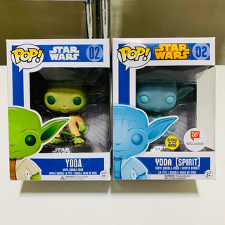 Lote Yoda + Yoda Spirit Funko Pop Star Wars 02