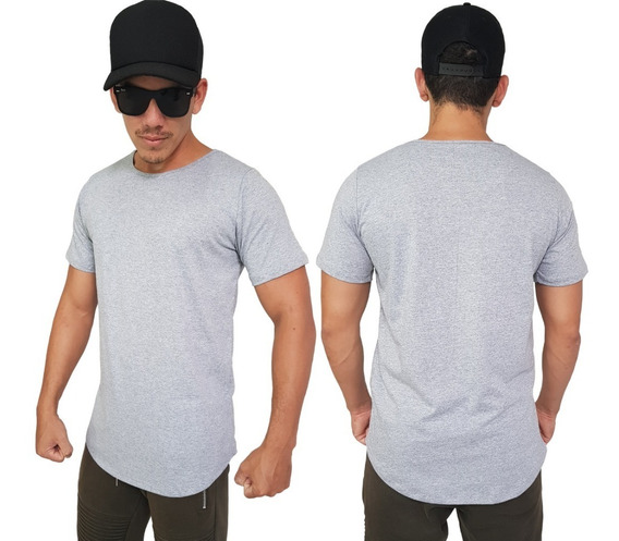 Camisa Blusa Masculina Longline Oversizer Swag Oferta Instr