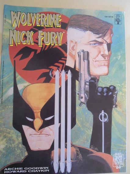 Wolverine Nick Fury