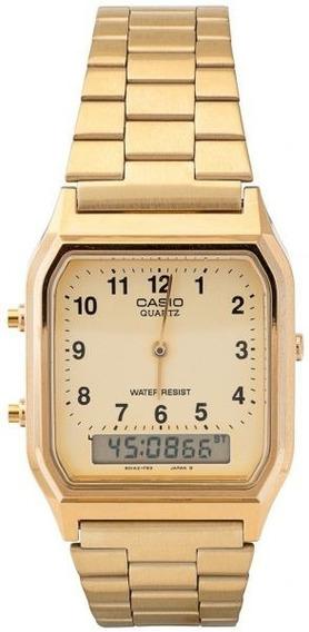 Relógio Casio Digital-analógico Aq-230ga-9bmq