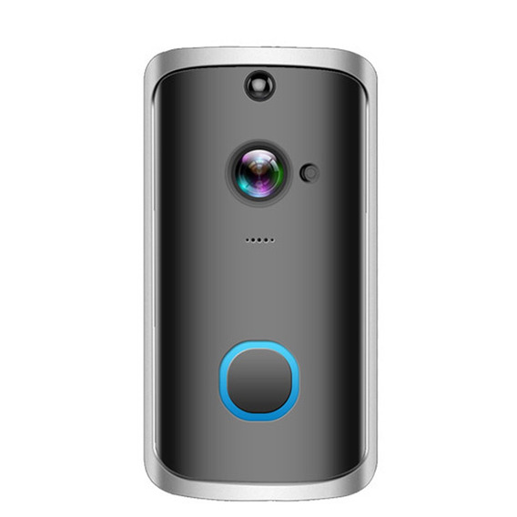 Wi-fi Sem Fio Seguro Doorbell Inteligente Vídeo Porteiro