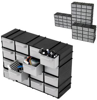 Organizador Mini Modulável 7001 Com 16 Gavetas