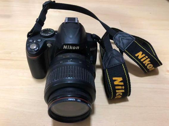 Câmera Nikon D3000 Com Kit Lentes E Filtros Especiais