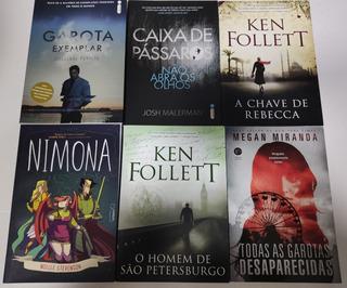 Lote Kit 6 Livros Suspense E Hq