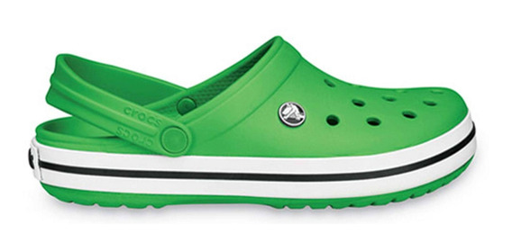 Crocs Originales Crocband Verde Hombre Mujer