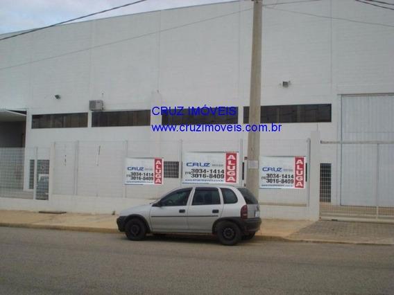 Galpão Industrial Alugo 1000 M², Sorocaba - Gl00007 - 3541674