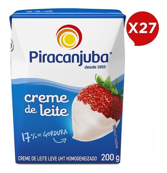 Combo Creme De Leite Piracanjuba 27x200g