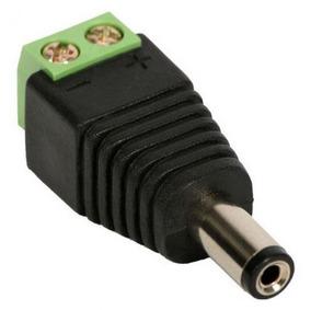 Kit 10 Conector Borne P4 Macho Para Cftv